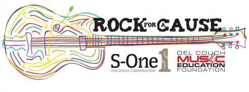 S-One Announces New Rock for a Cause Partnership with Del Couch Music Education Foundation