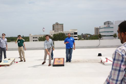 S-One Rooftop Event Brings Area Interns Together