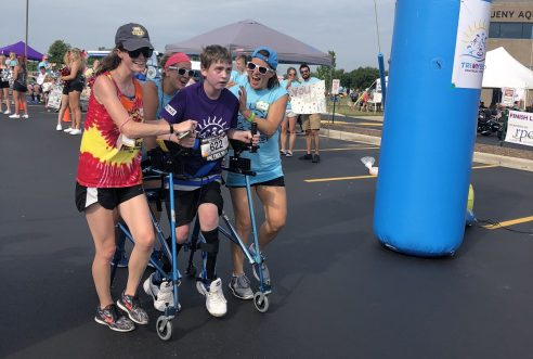 S-One Lends Support to These Brave Athletes